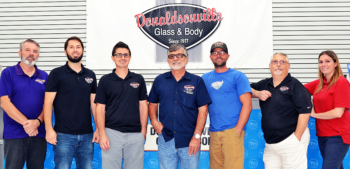 donaldsonville glass and body staff
